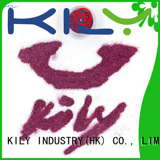 KILY halloween holographic eye glitter manufacturer for party