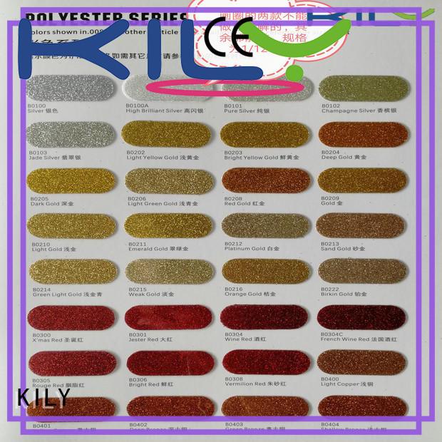 KILY eco-friendly occ makeup glitter manufacturer for handbags