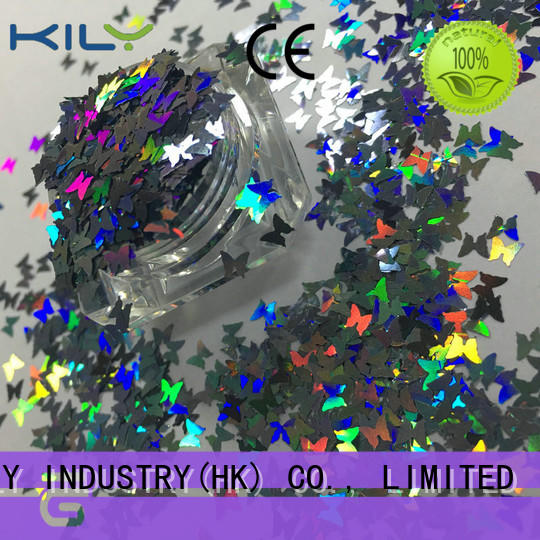 KILY kily shaped glitter wholesale for fashion show
