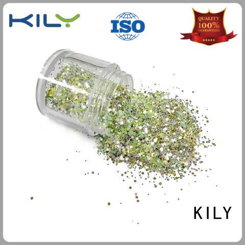 KILY pot fine glitter manufacturer for beach