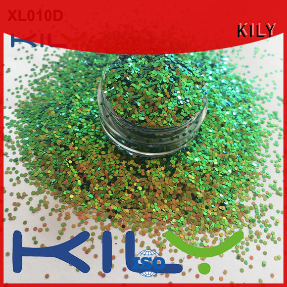 KILY cosmetic glitter supplier for carnival
