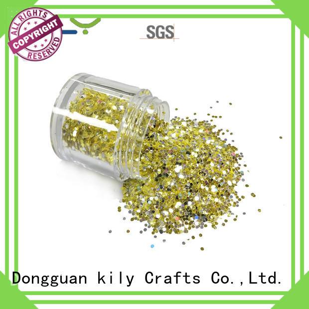 KILY hot sale cosmetic grade glitter for carnival