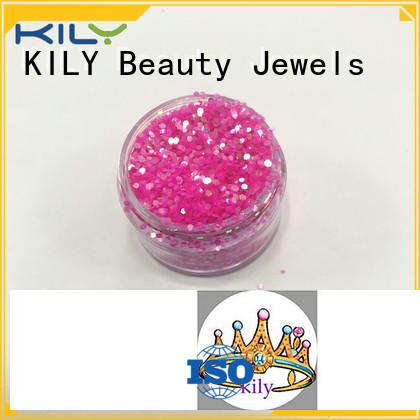 KILY online iridescent glitter series for carnival