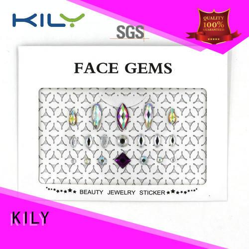 KILY small stick on diamantes wholesale for Halloween