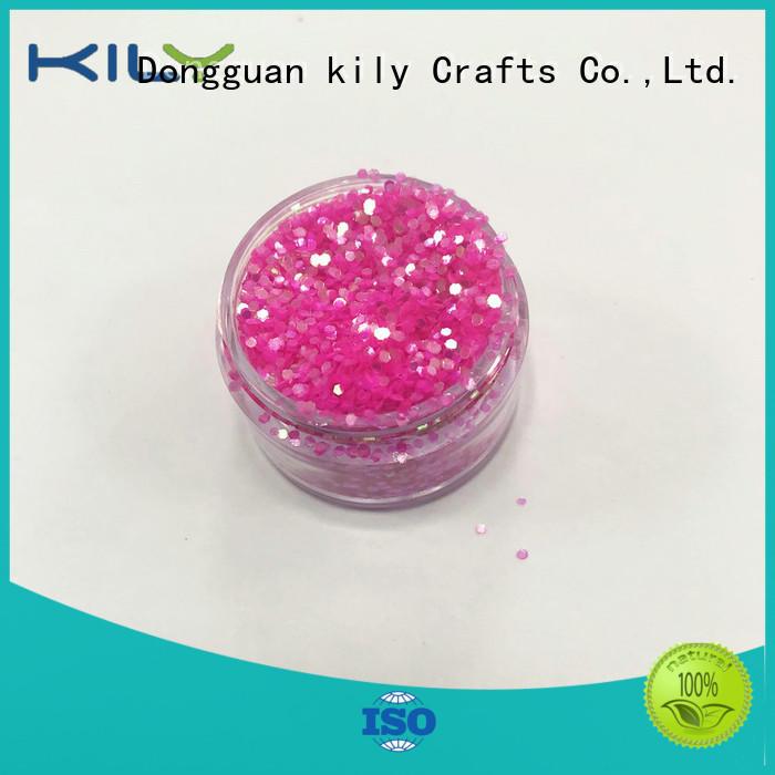 KILY professional iridescent glitter for music festival