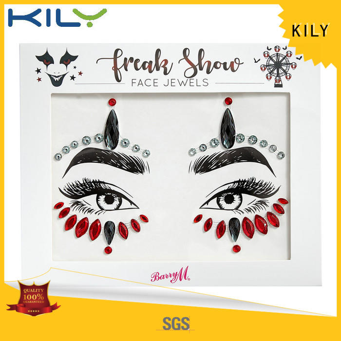 body styles stick KILY Brand face and body jewels manufacture