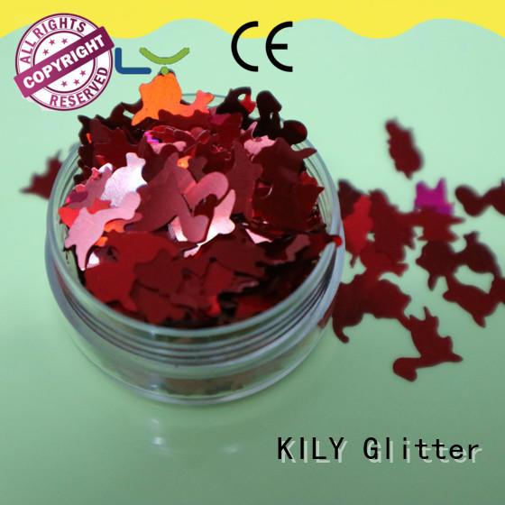 professional different shaped glitter safe manufacturer for music festival