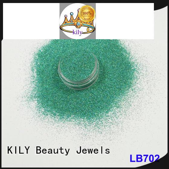 lb702 Holographic Glitter rose for music festival KILY
