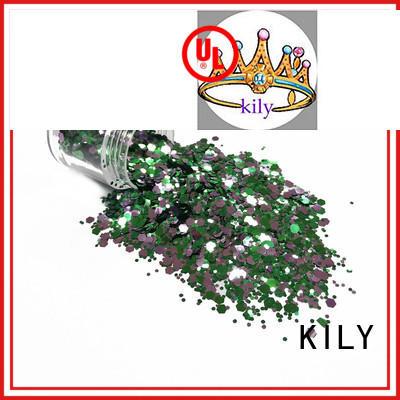 KILY hot sale craft glitter supplier for beach