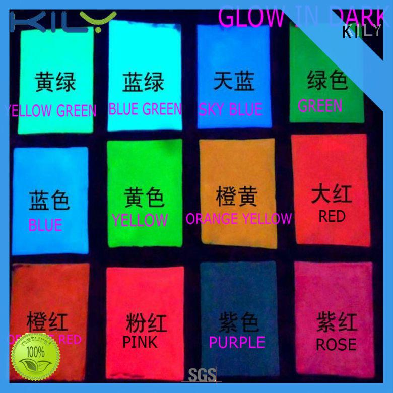 KILY professional glow in dark glitter wholesale for body art
