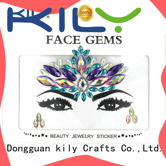 eye rhinestones supplier for music festival