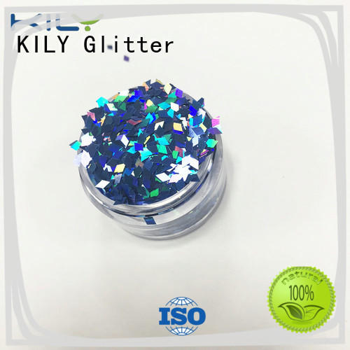 KILY safety shaped glitter wholesale for Halloween