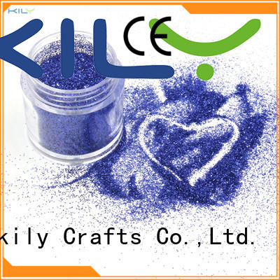 KILY fine glitter supplier for christmas gifts