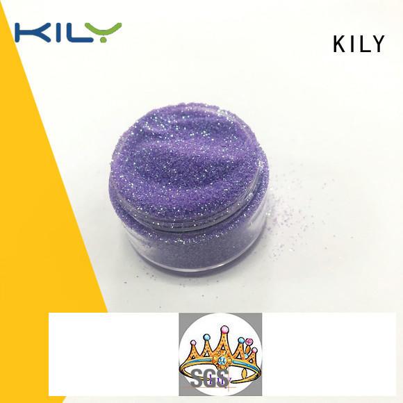 KILY professional iIridescent glitter manufacturer for music festival