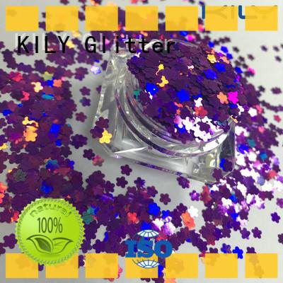 safety diamond shaped glitter art manufacturer for carnival