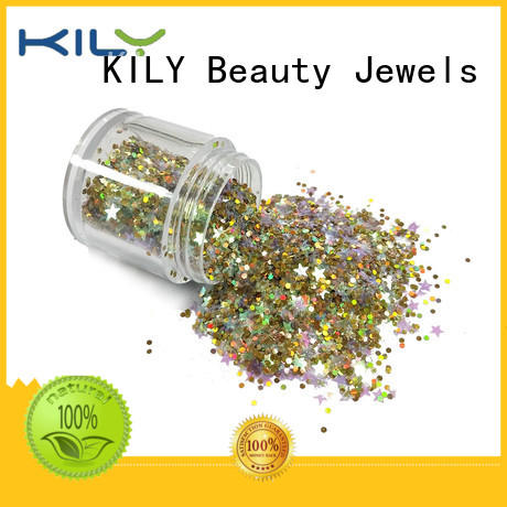 KILY safety mixed glitter manufacturer for fashion show