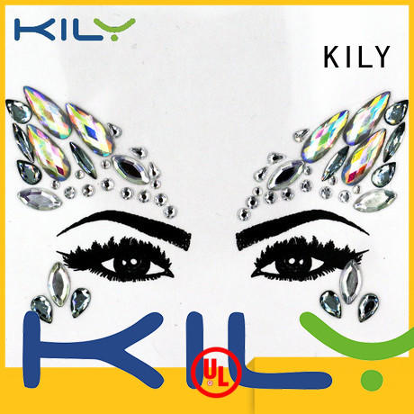 KILY gemstones face diamantes series for Halloween