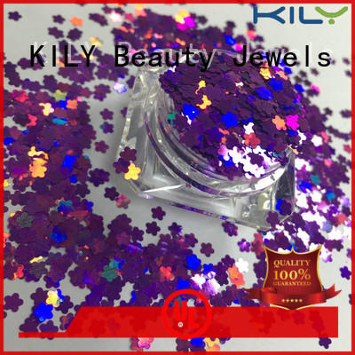 KILY safety shaped glitter for fashion show