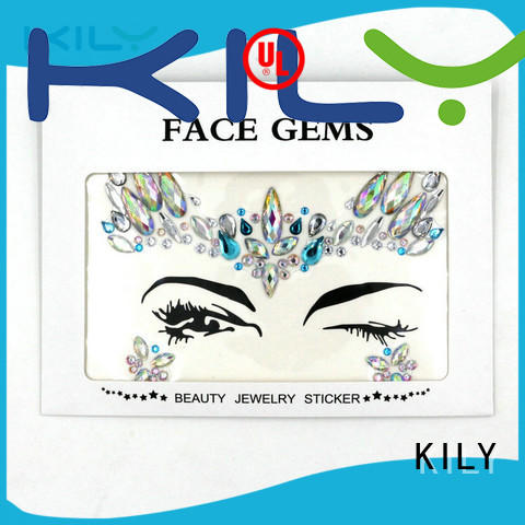 KILY kily face diamantes series for Halloween