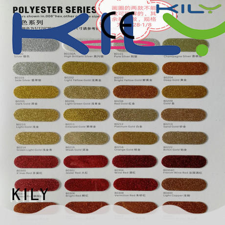 KILY biodegradable glue for glitter on glass supplier for screen printing