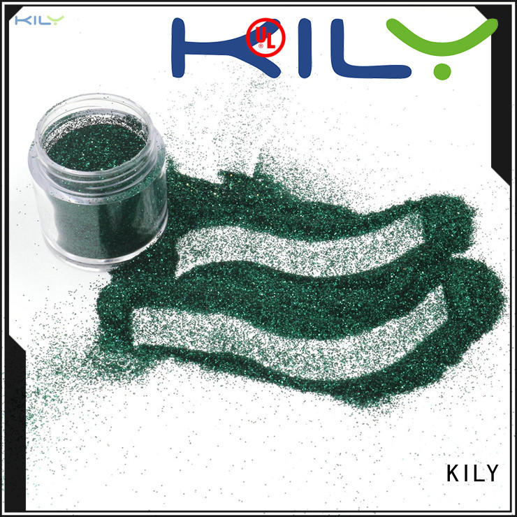 KILY online fine glitter supplier for garment