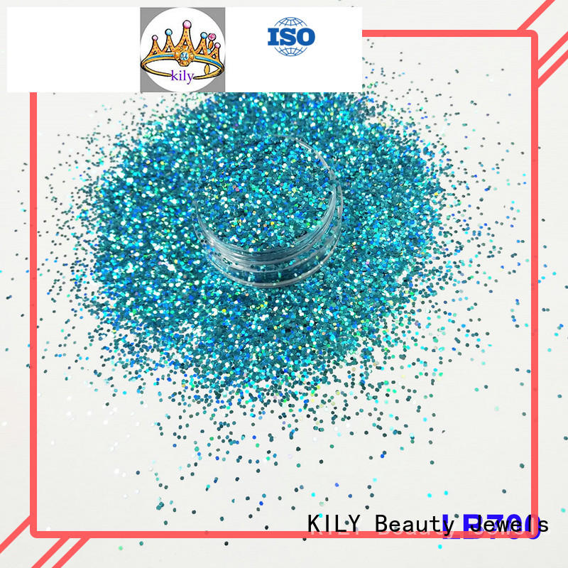 KILY professional holographic glitter supplier for carnival