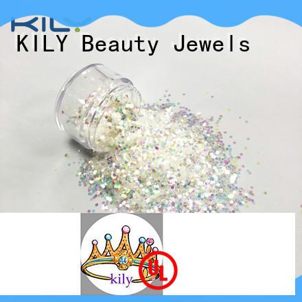 professional iridescent glitter wholesale for fashion show