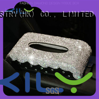 KILY car tissue box wholesale for party