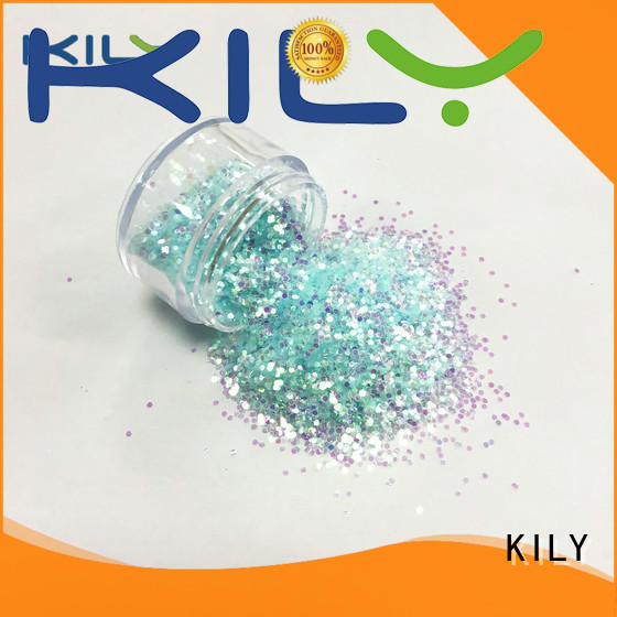 KILY safety iridescent glitter series for beach