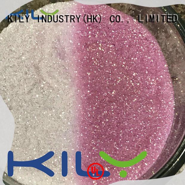 KILY tumbler uv gel glitter powder supplier for handbags