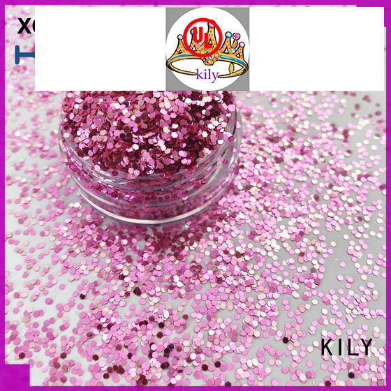KILY cosmetic shifting glitter series for beach