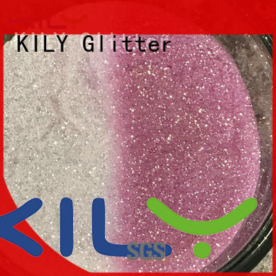 KILY change neon body glitter manufacturer for shoes