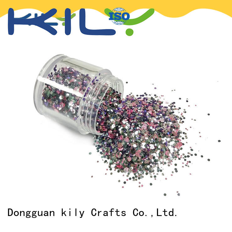 glitter powder manufacturer for party KILY
