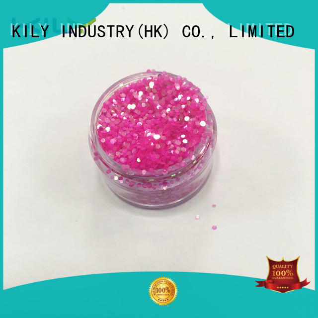 KILY safety iIridescent glitter series for Christmas