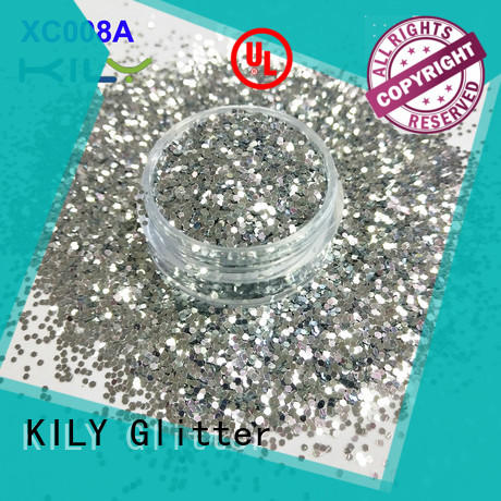 KILY professional cosmetic glitter supplier for music festival