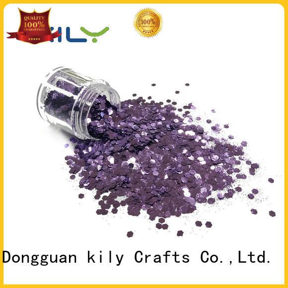 KILY non-toxic cosmetic glitter wholesale for music festival