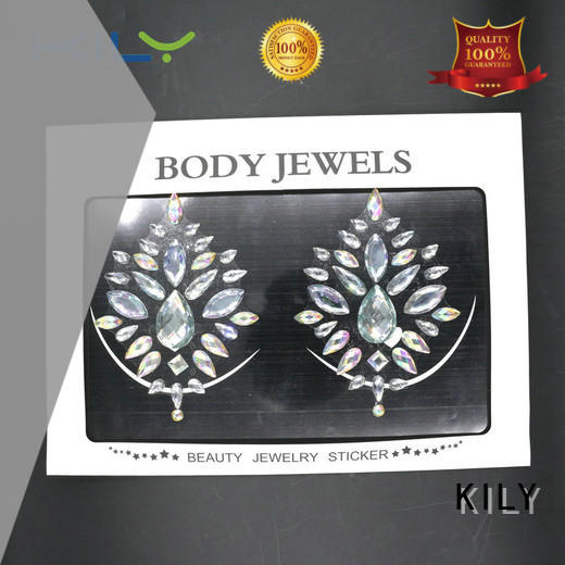 KILY design festival body jewels wholesale for fashion show