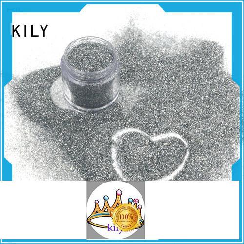 KILY eco-friendly fine glitter wholesale for process printing