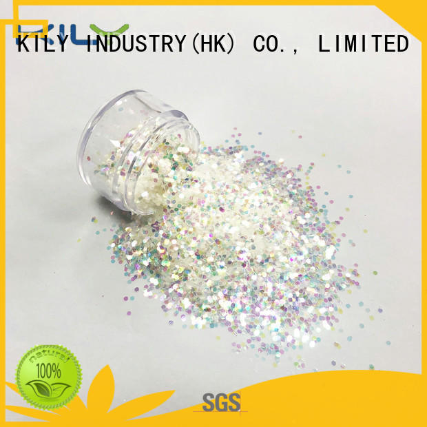 KILY c502 iIridescent glitter manufacturer for party