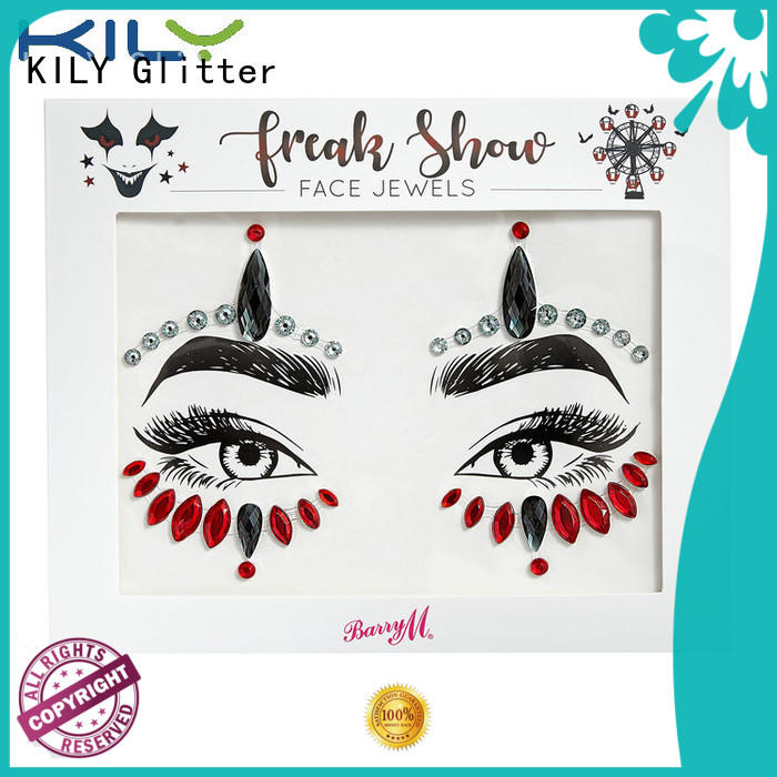 KILY professional eye rhinestones wholesale for party