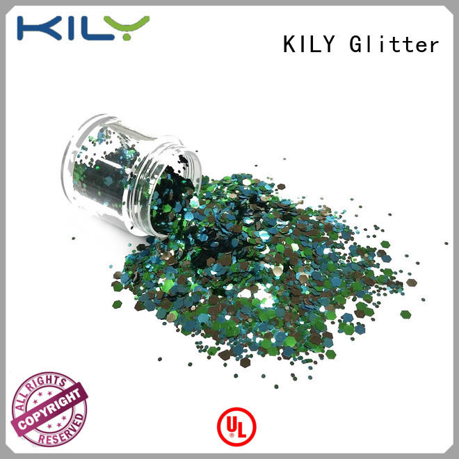 KILY safety glitter powder wholesale for sport meeting