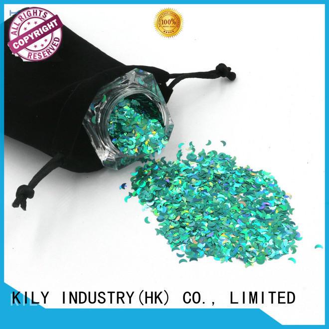 KILY glitter different shaped glitter series for music festival