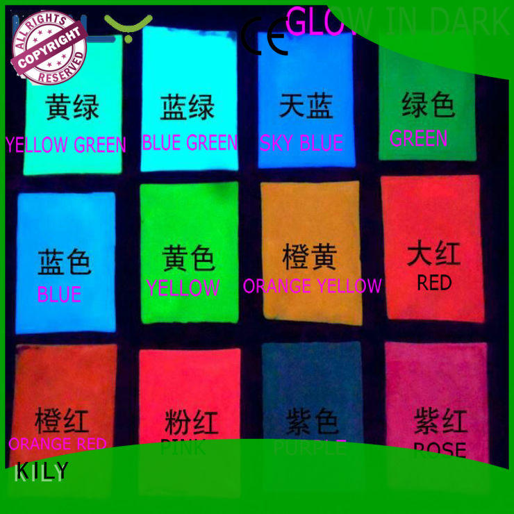 KILY professional glow in dark glitter wholesale for festival decoration