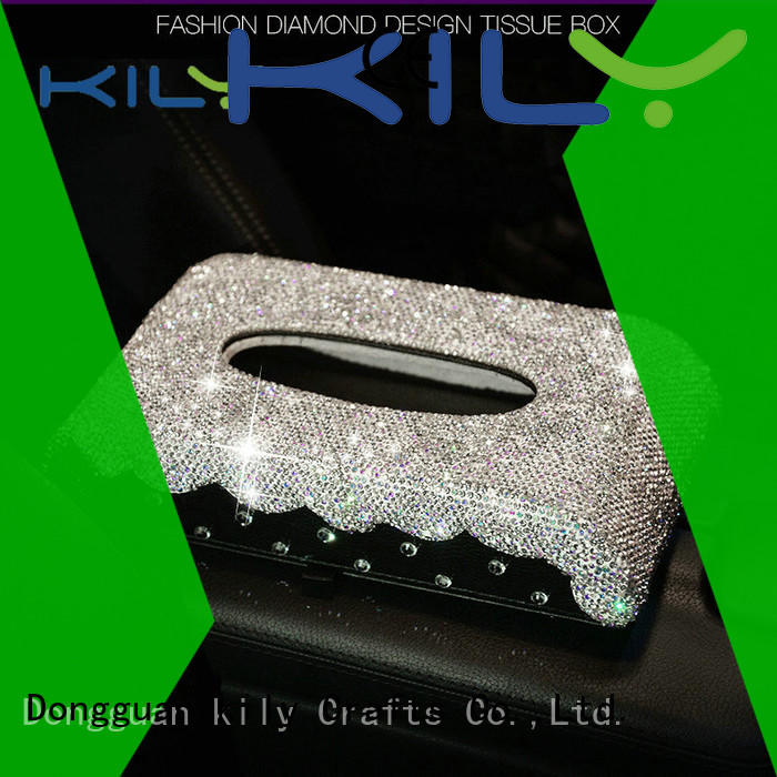 KILY professional tissue box manufacturer for sport meeting