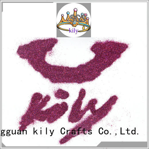 holographic glitter series for music festival KILY