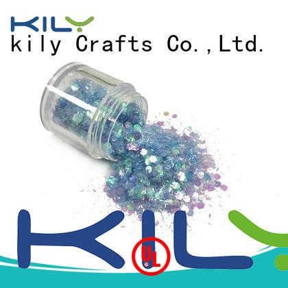 KILY craft glitter manufacturer for beach