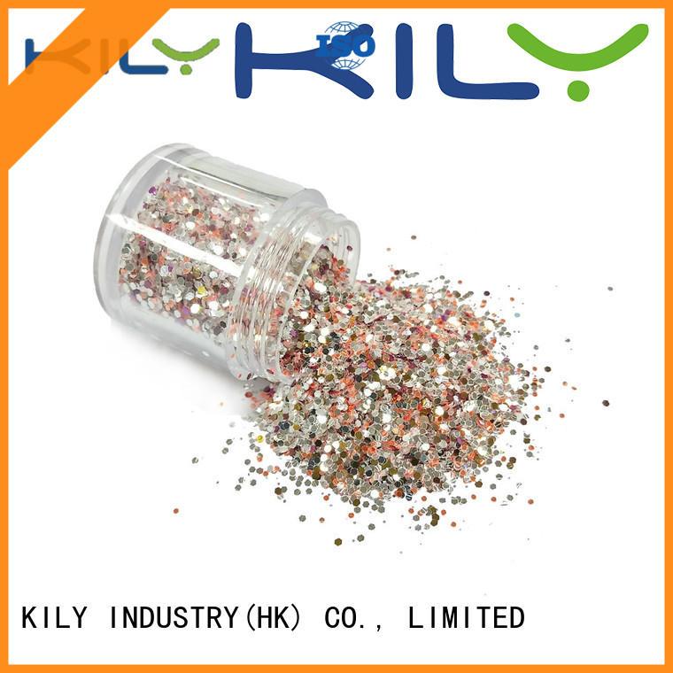 KILY hot sale bulk glitter manufacturer for Christmas