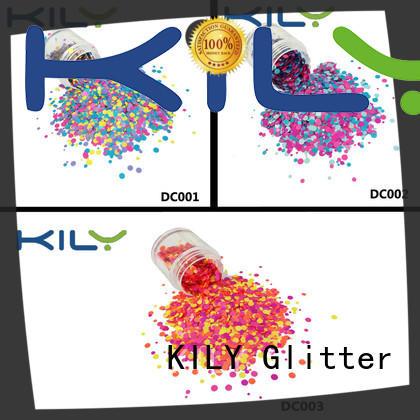 KILY neon glitter