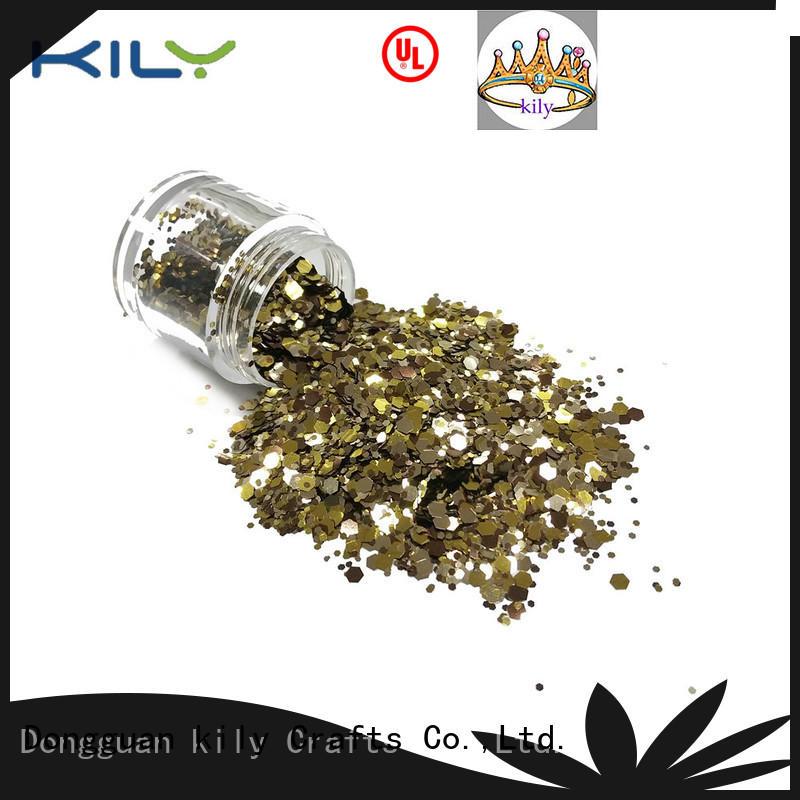 bulk glitter wholesale for fashion show KILY