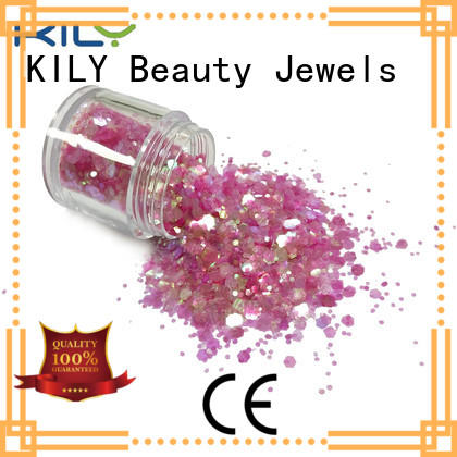 KILY safety chunky glitter series for carnival
